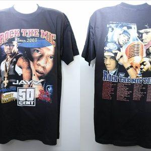 "Other - 2003 Vintage ""ROC THE MIC"" Tour Rap Tee"